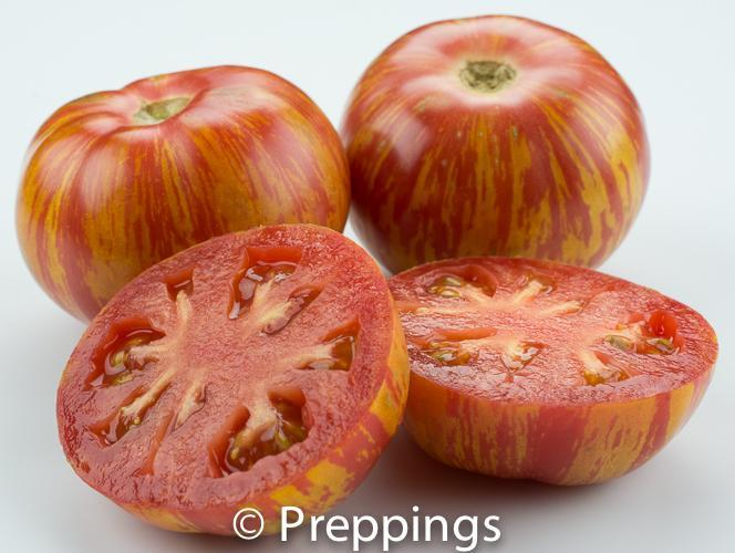 Ingredient Of The Day: Red Zebra Tomato