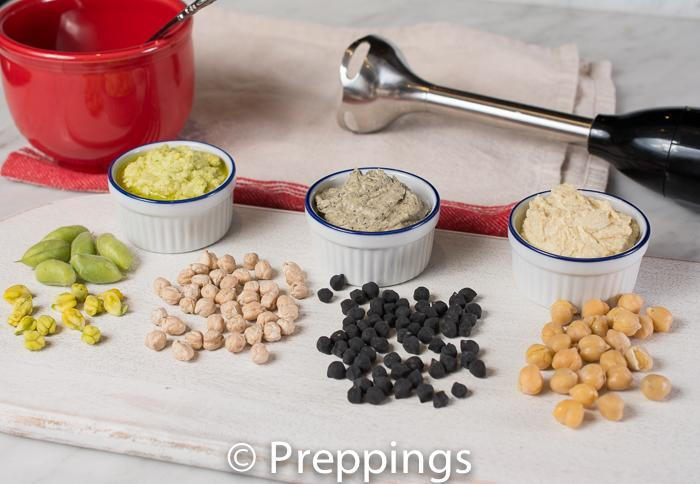 Selection Of Chickpeas/Garbanzo Beans