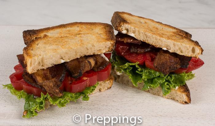 Bacon, Lettuce, Tomato Sandwich