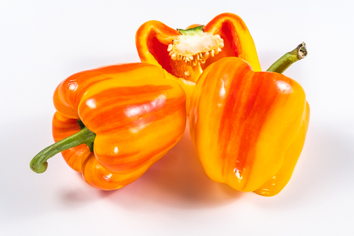Striped Holland Bell Pepper